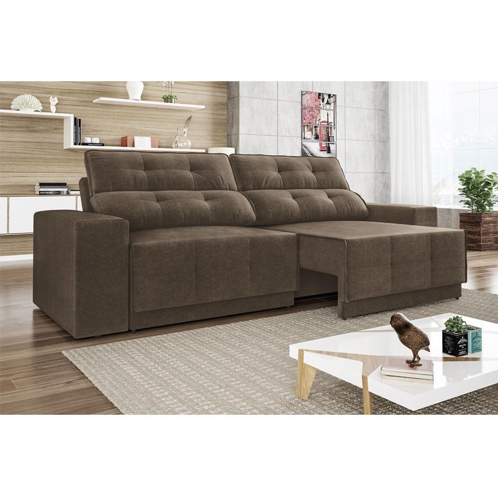 Sofa Reclinavel E Retratil