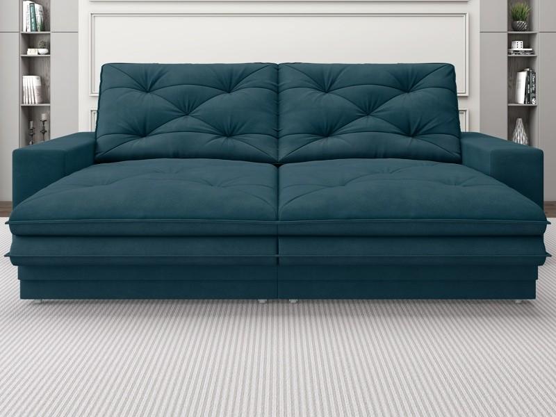 Sofá Neon 2,40m Retrátil e Reclinável Velosuede Royal - NETSOFAS