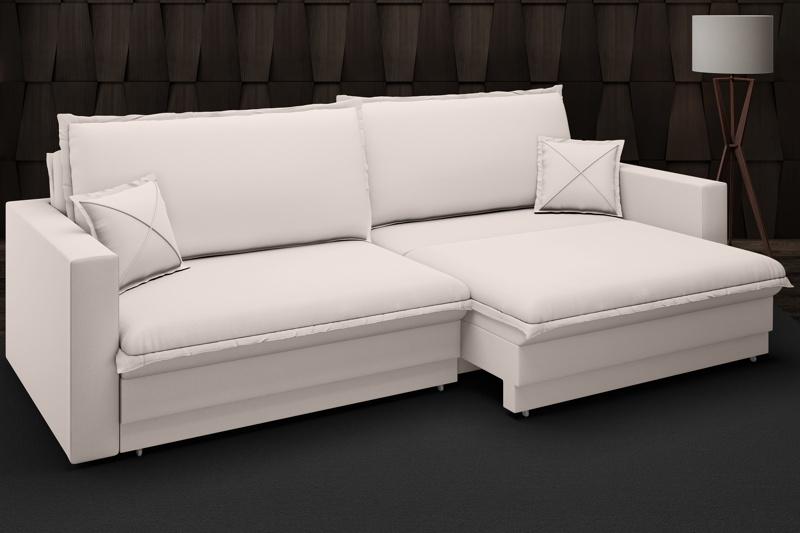 Sofá Tango 1,80m sem caixa, Retrátil e Reclinável Velosuede - NETSOFAS