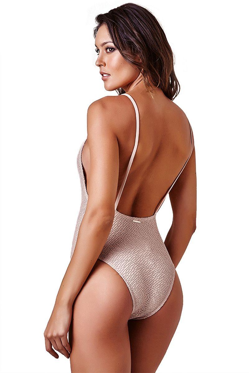 Body Side Boob Renda Nude