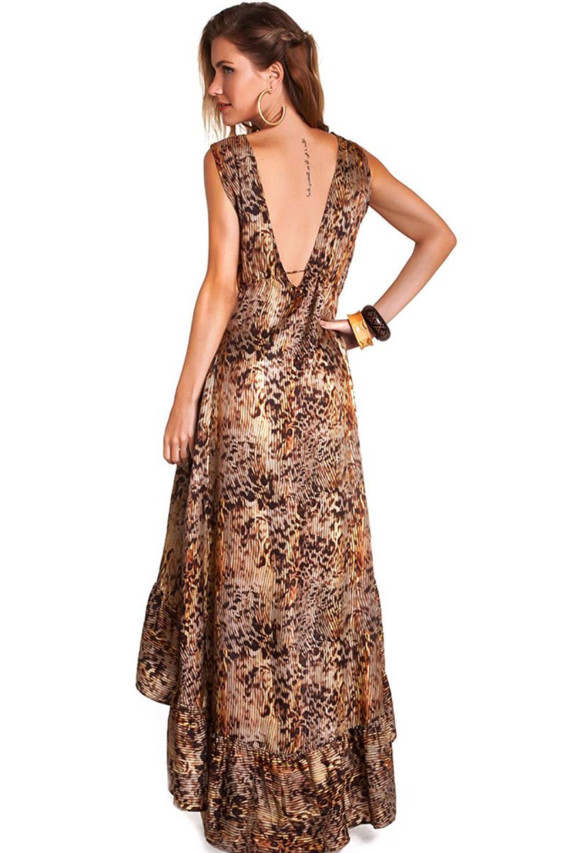 6967b9c37 ... Vestido Kate Estampa Onça - Empress Brasil Confecções Ltda ME
