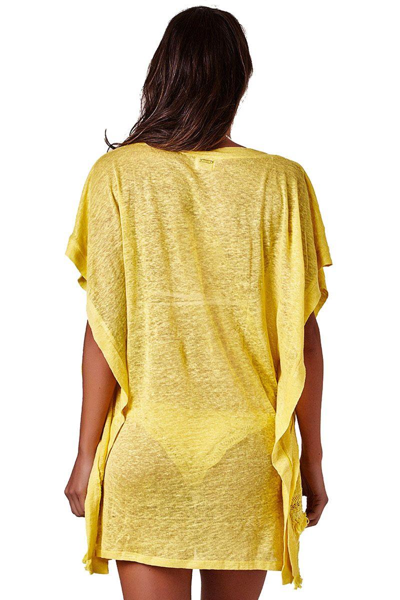 Tunica Rustic Amarelo Sunshine