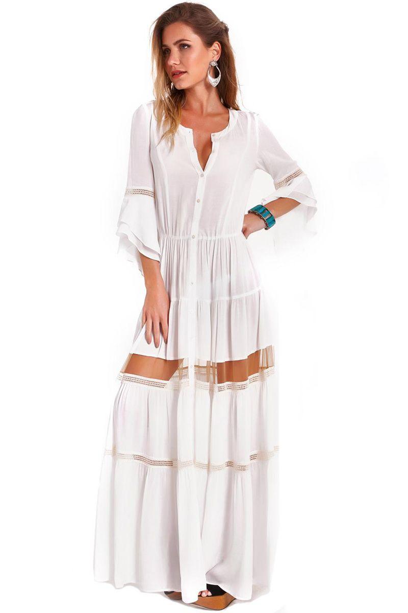 Vestido Gisele Off White