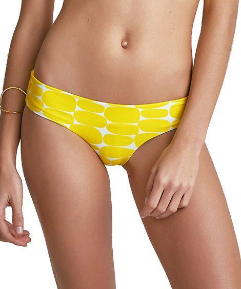Biquini Bardot Estampa Leblon Amarelo