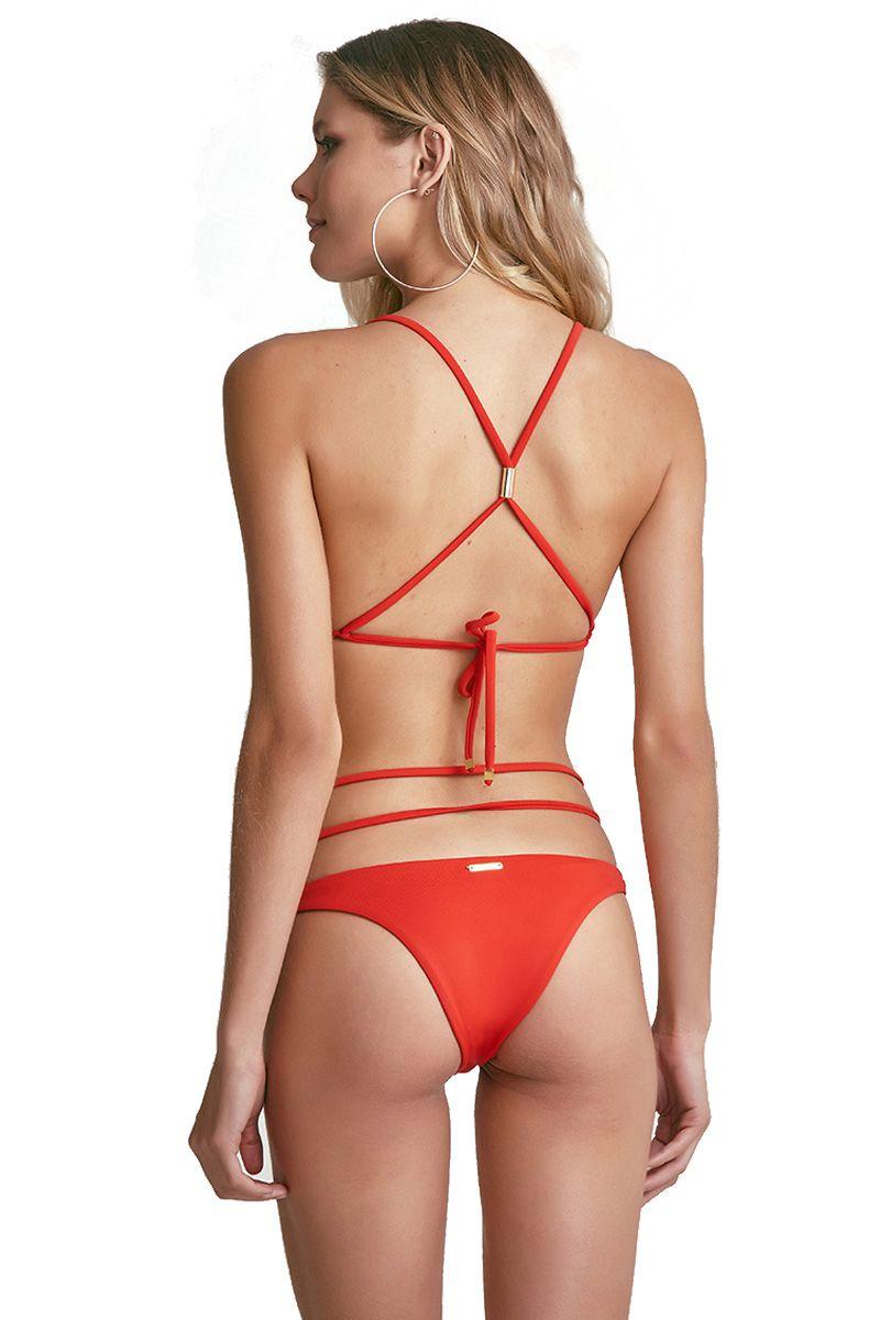 Biquini Cross Vermelho