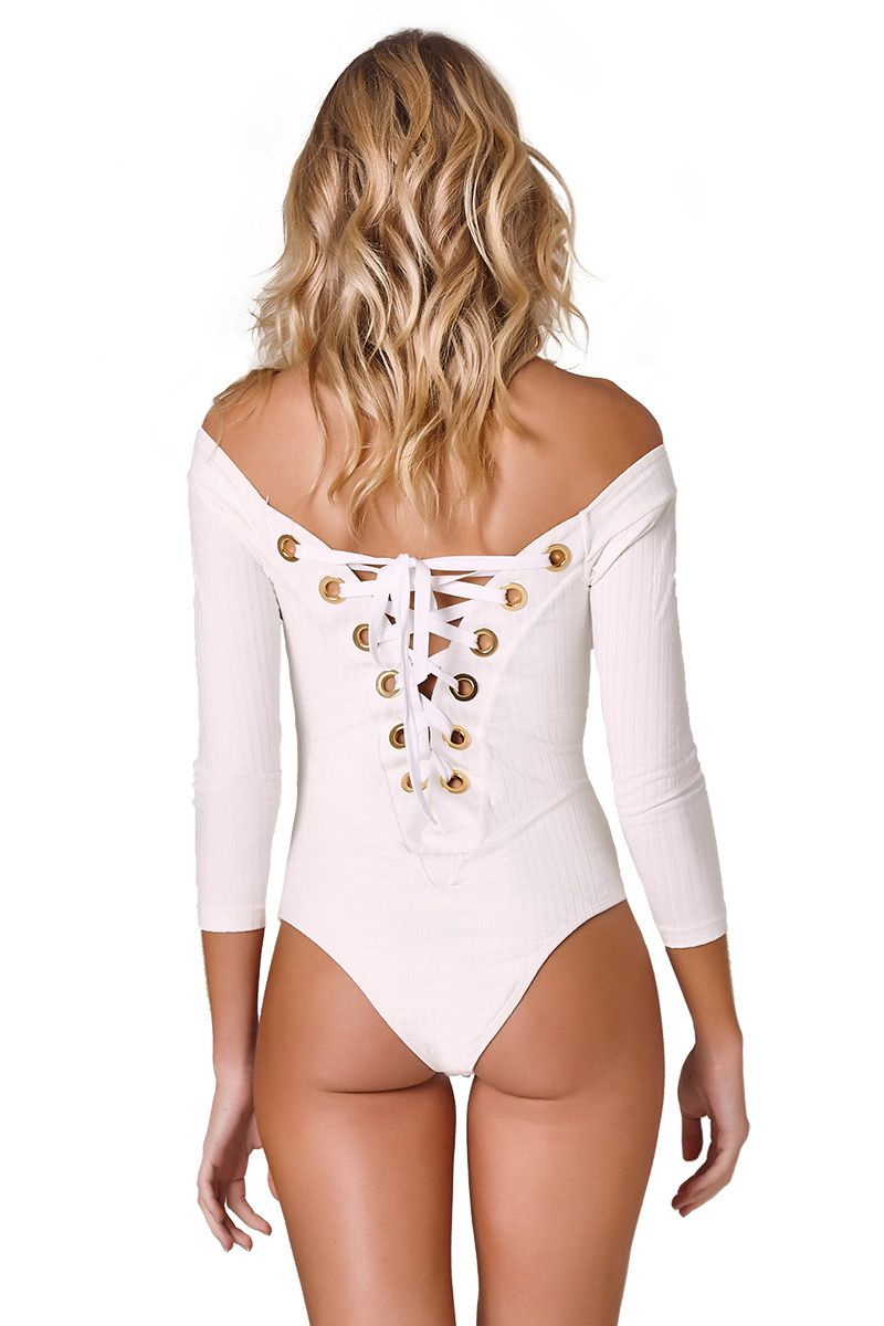 Body Bianca Canelado Off White