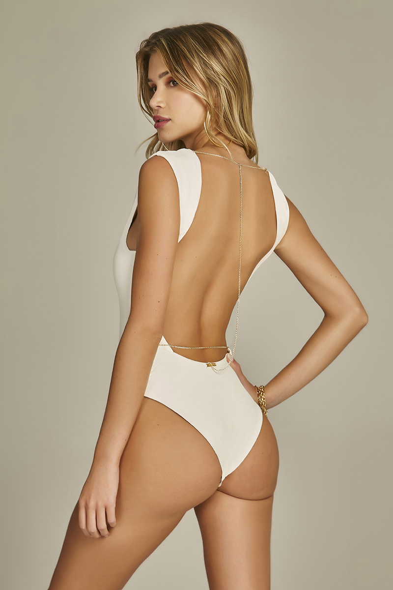 Body Cassy Texture Flat Off White