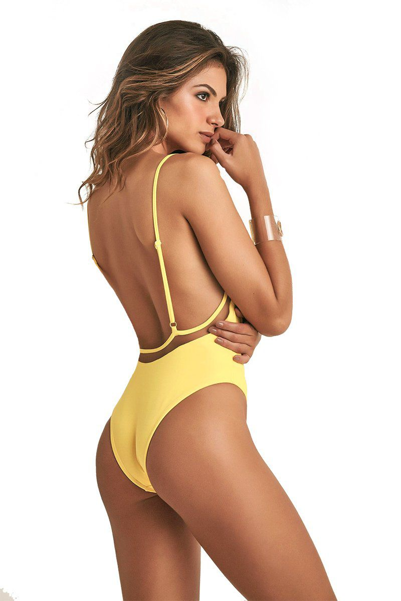 Body Dreamy Amarelo Margarida