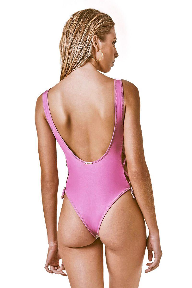 Body Heidi Estampa Brasil Pink