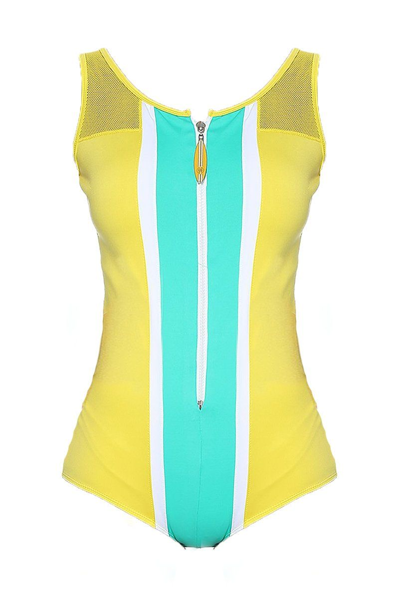Body Honolulu Amarelo Sunshine