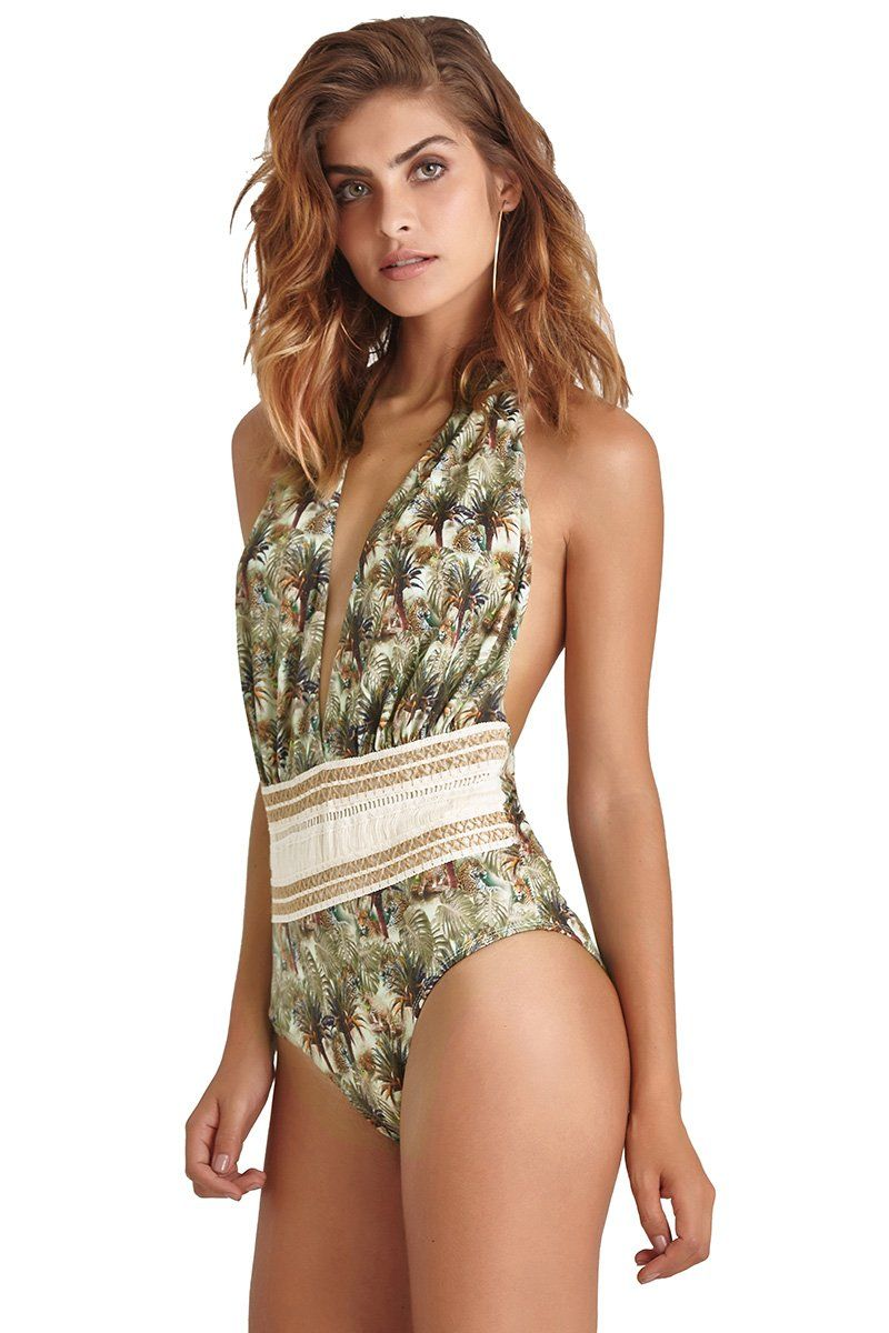 Body Jackie O' Estampa Onça Jungle