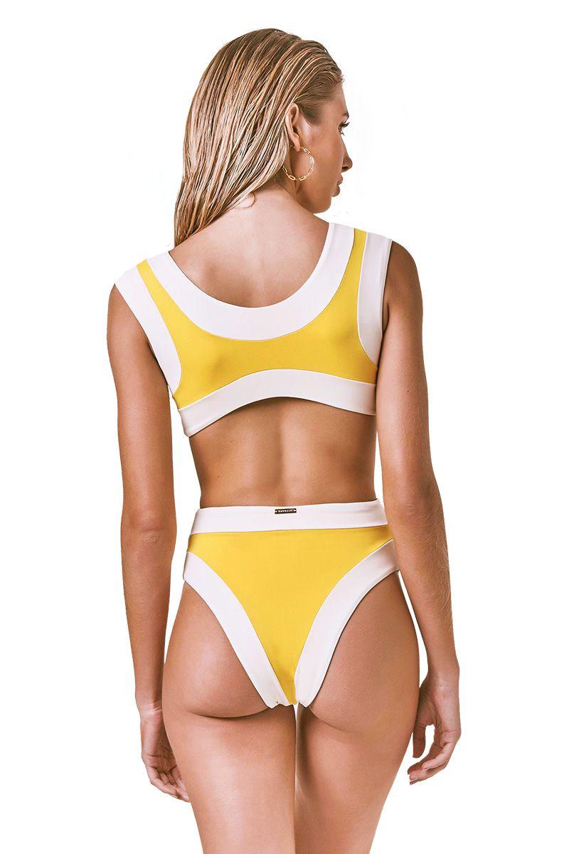 Body Sporty Amarelo Retro