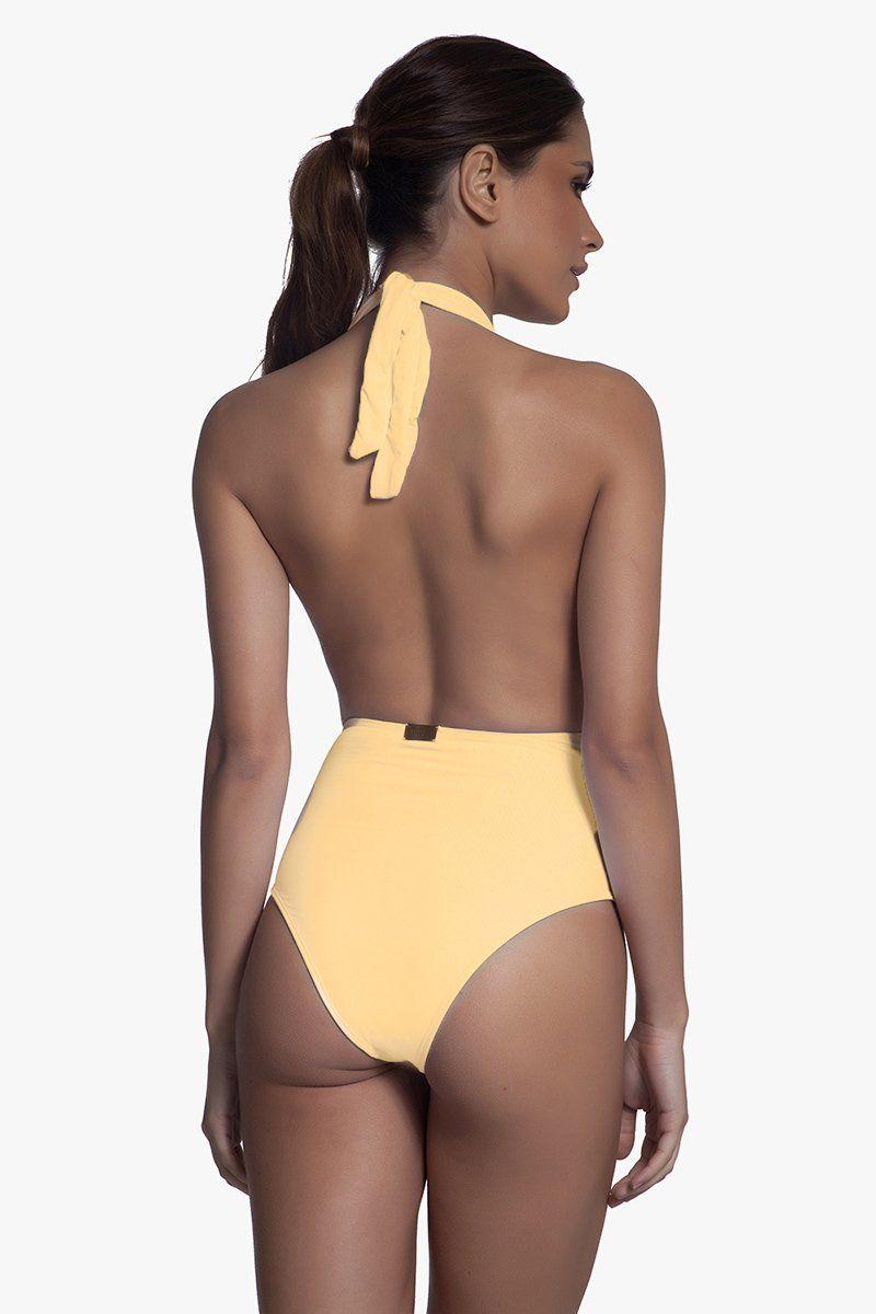 Body Jackie O' Amarelo Passarinho