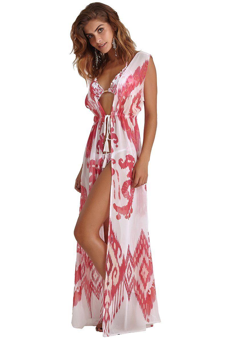 Robe Sophie Estapa Ikat Pink