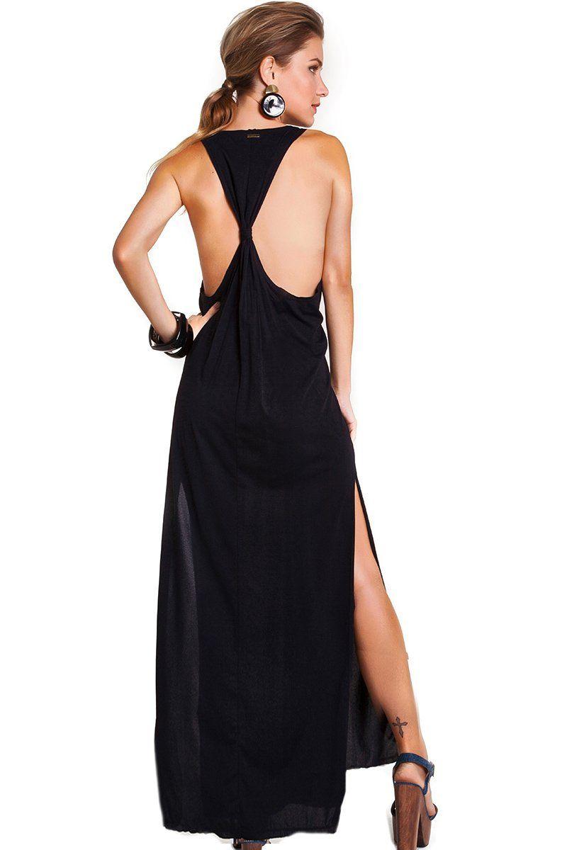 Vestido Regata Preto