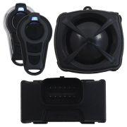 Alarme Moto Stetsom Triplo I Universal Evolution Controle Presença Controle Remoto Sirene Dedicada Acionamento Partida