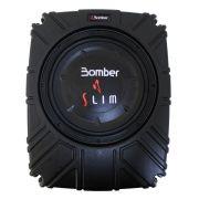 Caixa Selada Bomber Slim Subwoofer 10 Polegadas 200 Rms