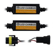 Canceller Super Led H1 H11 H27 H3 H4 H7 HB3 HB4 Anti Flicker E-Tech Kit Lampada Can Bus Computador Bordo