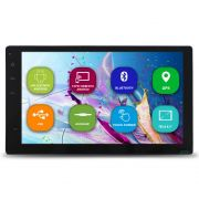 Central Multimidia 2 Din Android Tela 6.2 Pol Gps H-Tech