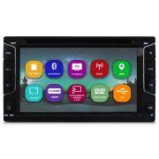 Central Multimídia 2 Din Tela 6.2 Tay Tech S95 Gps Tv Dig