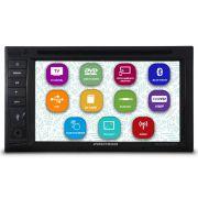 Central Multimídia Automotivo 2 Din 6.2 Pol Positron SP8730-DTV Universal TV Digital Dvd Espelhamento Android Bluetooth