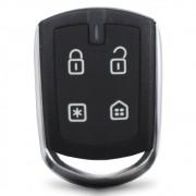 Controle Remoto Alarme Positron PXN64 4 Botões Led Vermelho EX FX PX TX DuoBlock G6 G7 G8