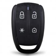 Controle Remoto Alarme Positron PXN72 4 Botões Led Vermelho EX FX PX TX DuoBlock G6 G7 G8