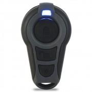 Controle Remoto Alarme Stetsom CX-1 Evolution  3 Botões Led Azul Evx Top I-Move Elt Plus Elt Top Triplo I