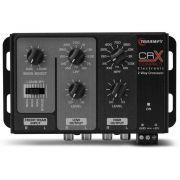 Crossover Automotivo Taramps 2 Vias CRX Compact Digital 12v Mesa Som Bass Boost Level Subsonic Filter