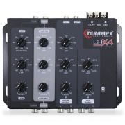 Crossover Automotivo Taramps 4 Vias CRX-4 Digital 12v Mesa Som Bass Boost Level