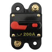 Disjuntor Automotivo Ray X 100a 150a 200a 12v 1 Via Proteção Chave Geral Terminal