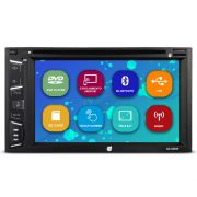 Dvd Player Automotivo 2 Din 6.2 Polegadas Dazz DZ-52838 Bluetooth Espelhamento Android Usb Aux Sd Card Radio Fm Full Hd