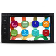 Dvd Player Automotivo 2 Din 6.2 Polegadas Positron SP8530-BT Bluetooth Espelhamento Android Usb Aux Comando Som Volante