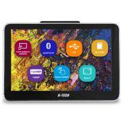 Encosto Cabeça Acoplar H-Tech ET-800 Tela 8 Polegadas Monitor Espelhamento Android Bluetooth Usb Sd Card Universal