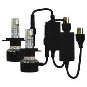 Kit Lampada Super Led C3 H4 3000k 6000k 8000 Lúmens 12v 24v 30w Ray X Farol Alto Baixo IP65