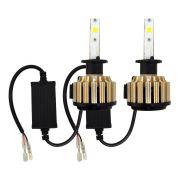 Kit Lampada Super Led Cooler H1 H11 H13 H16 H27 H3 H7 H8 HB3 HB4 6000k 9000 Lúmens 12v 24v 48w D-Max IP68