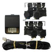 Kit Trava Elétrica Clio Symbol 2009 2010 2011 2012 4 Portas Mono Tragial TRC4 Original 4P