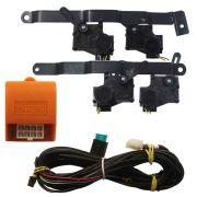 Kit Trava Elétrica Onix Novo Prisma Joy LT LTZ 4 Portas Mono Tragial GM04 Original 4P