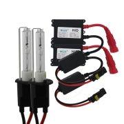 Kit xenon carro 6000K 12v 35w Ray X Lampada Farol Baixo