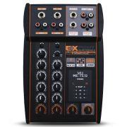 Mesa Som Automotivo Expert MX-1 Stereo 4 Canais 12v Auxiliar Rca Microfone Equalizador 4 Bandas