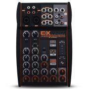 Mesa Som Automotivo Expert MX-2 Stereo 8 Canais 12v Auxiliar Rca Microfone Equalizador 4 Bandas