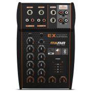 Mesa Som Automotivo Expert MX-Air Stereo 2 Canais 12v Bluetooth Auxiliar Rca Microfone Equalizador 4 Bandas
