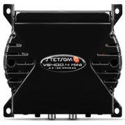 Módulo Amplificador Stetsom Vision 4 Canais Vs400.4 400 wrms 2 Ohms Preto