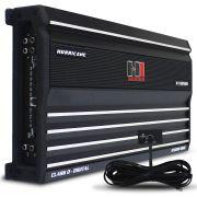 Modulo Amplificador Hurricane 2500 Rms H1-2500 Mono Digital 1 Canal 1 Ohm Classe D Bass Boost Crossover