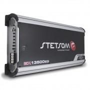 Modulo Amplificador Stetsom 13500 Rms EX-13500EQ Export Line Mono Digital 1 Canal 1 Ohm Classe D Crossover