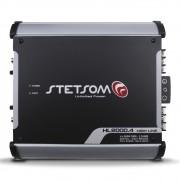 Modulo Amplificador Stetsom 2000 Rms HL-2000.4 High Line Stereo Digital 4 Canais 1 Ohm 2 Ohms Classe D