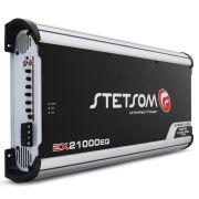 Modulo Amplificador Stetsom 21000 Rms EX-21000EQ Export Line Mono Digital 1 Canal 1 Ohm Classe D Crossover