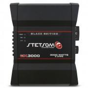 Modulo Amplificador Stetsom 3000 Rms EX-3000 Black Export Line Mono Digital 1 Canal 1 Ohm 2 Ohms Classe D