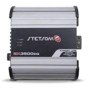 Modulo Amplificador Stetsom 3500 Rms EX-3500EQ Export Line Mono Digital 1 Canal 1 Ohm 2 Ohms Classe D Crossover
