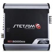 Modulo Amplificador Stetsom 5000 Rms EX-5000EQ Export Line Mono Digital 1 Canal 1 Ohm 2 Ohms Classe D Crossover